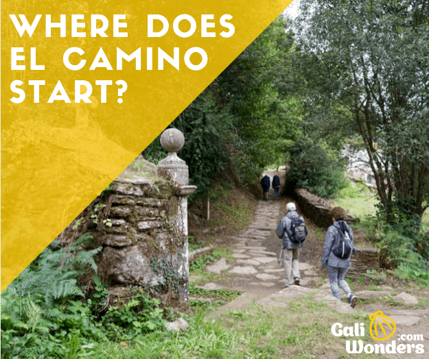 Where does the Camino de Santiago start