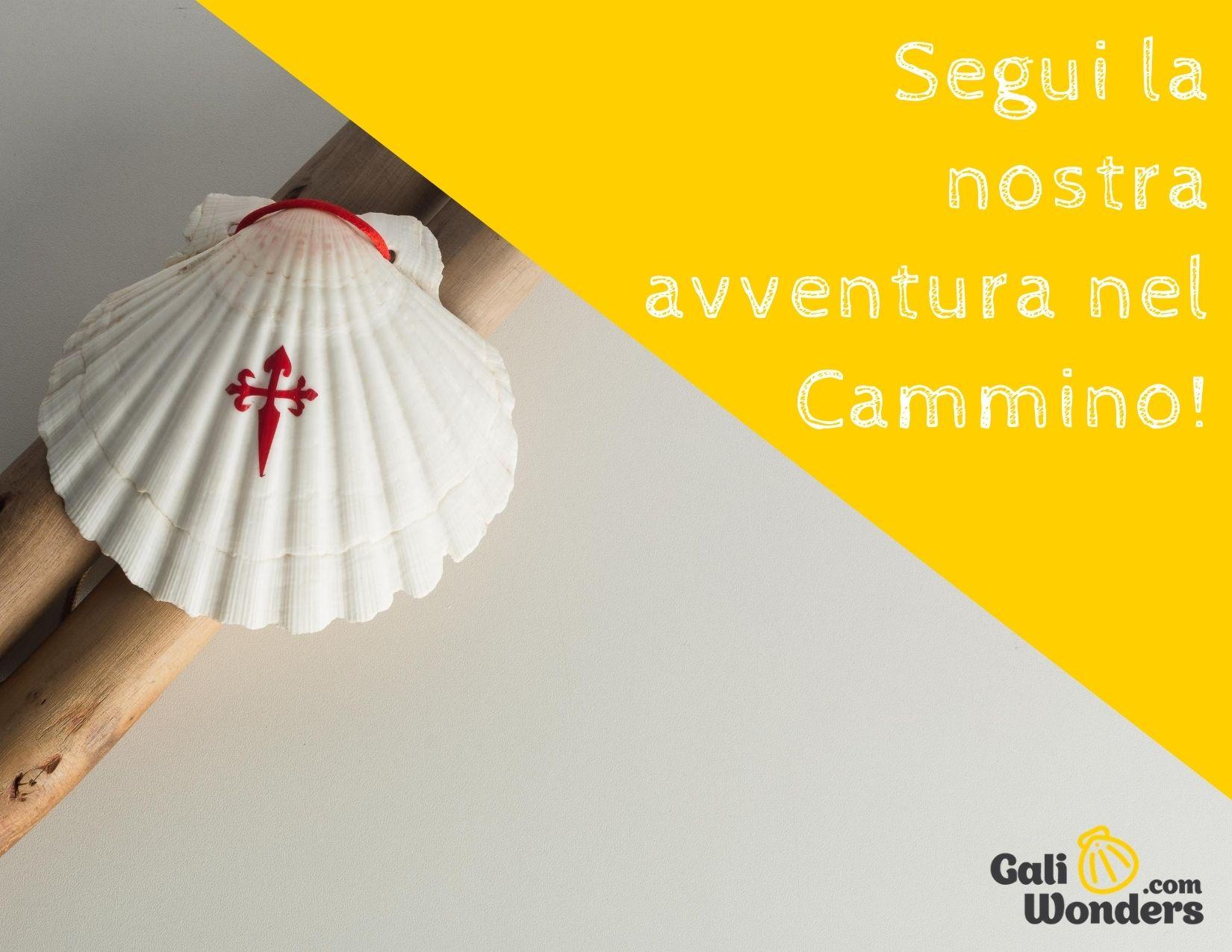 Segui la nostra avventura del Cammino di Santiago Galiwonders