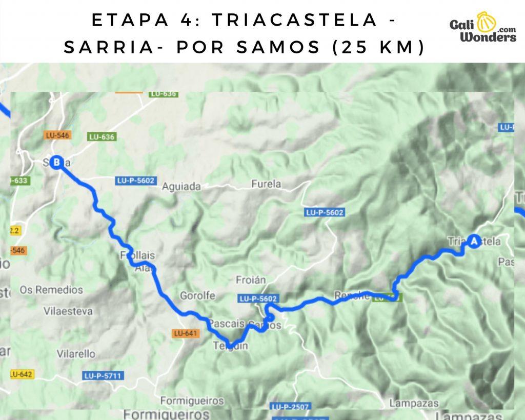 ruta frances desde ponferrada galiwonders