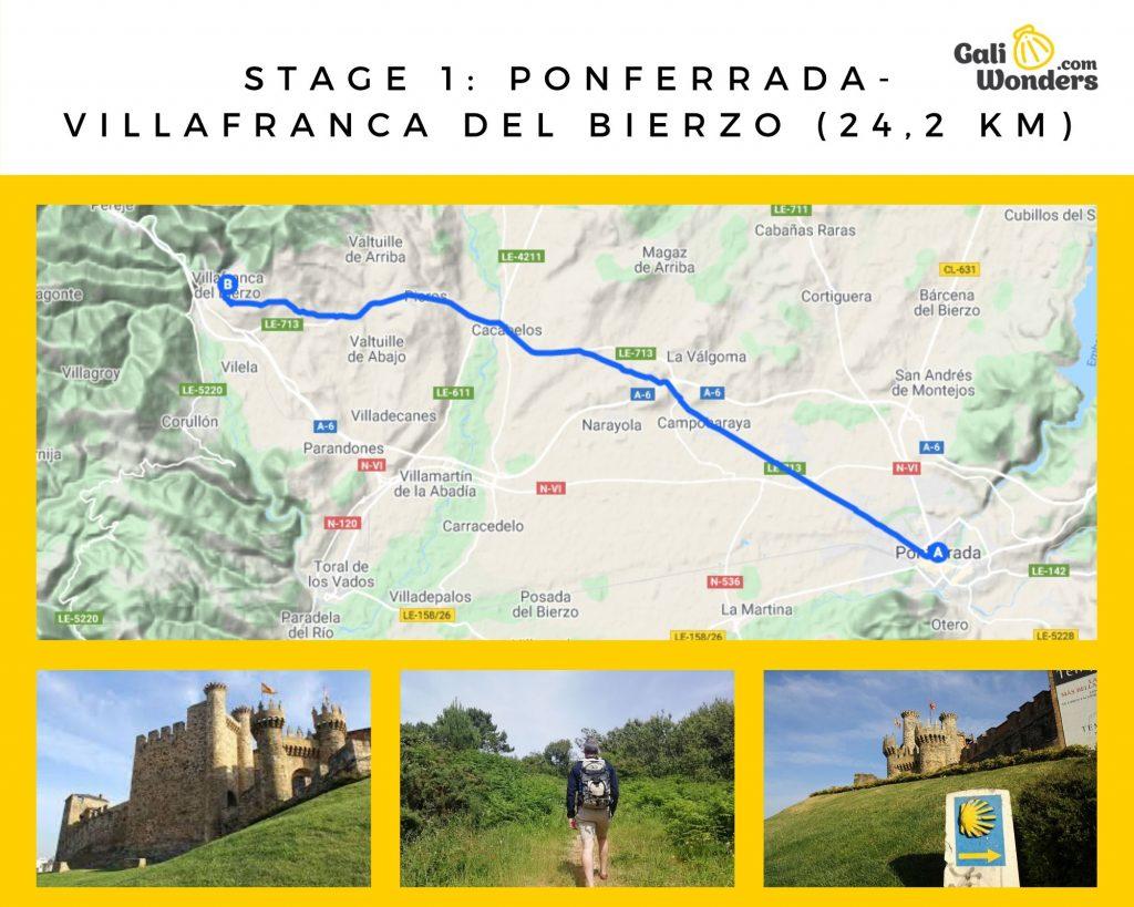 stage 1 PONFERRADA VILLAFRANCA DEL BIERZO 242 KM 8