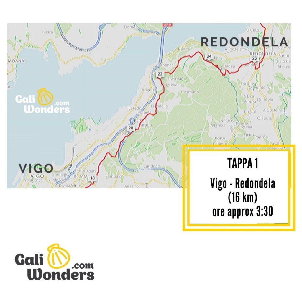 mappa vigo redondela galiwonders