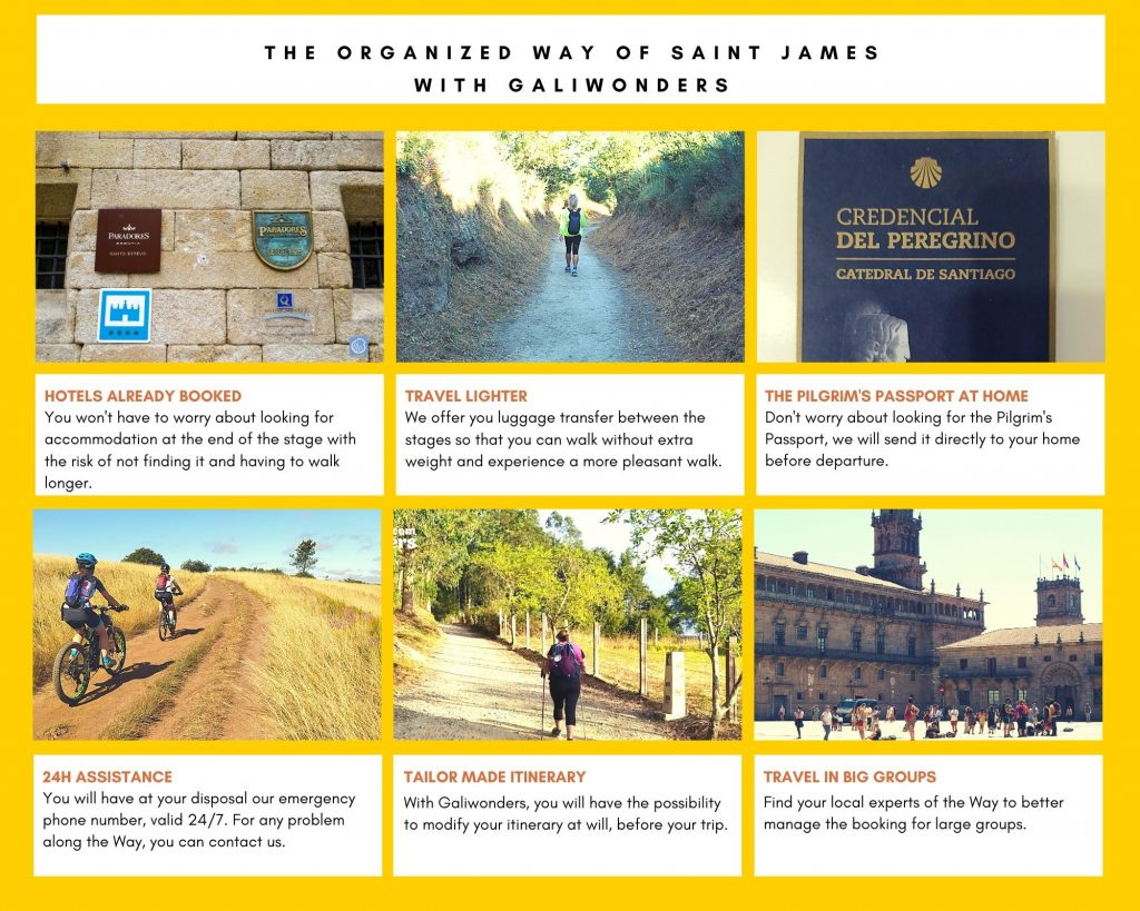 the organized way of saint james with galiwonders