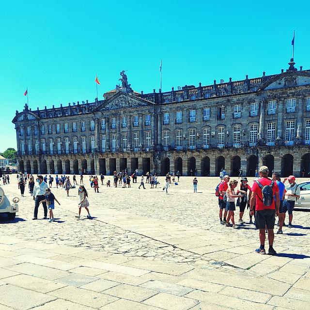 palacio de Raxoi santiago de compostela