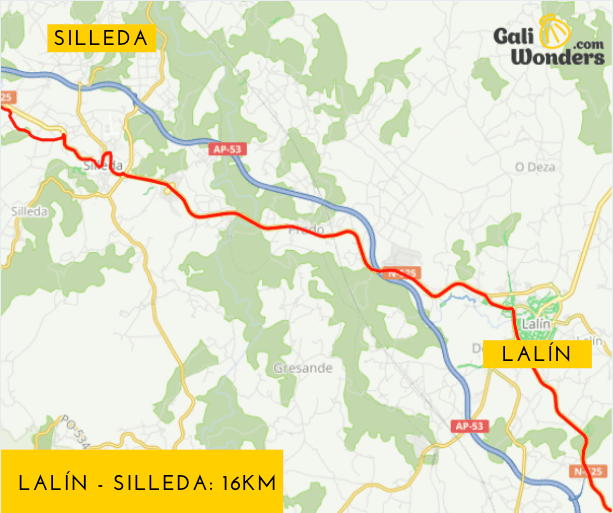 Lalin a Silleda 16 km galiwonders
