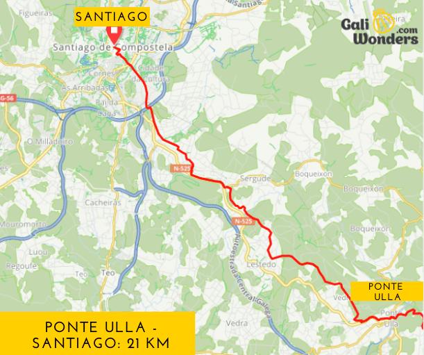 Ponte Ulla a Santiago Via de la Plata Galiwonders