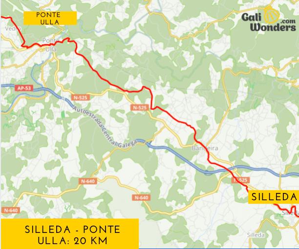 Silleda a Ponte Ulla Galiwonders