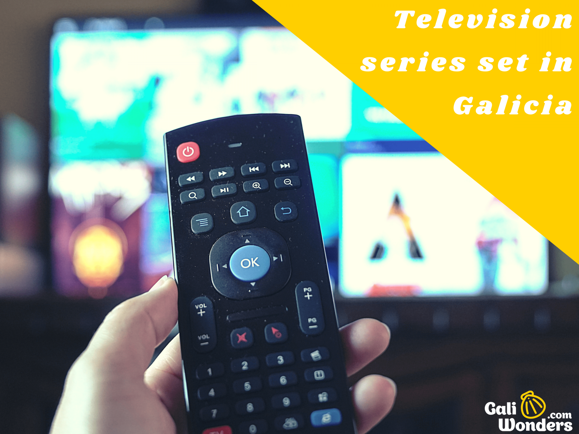 TV Series set in galicia