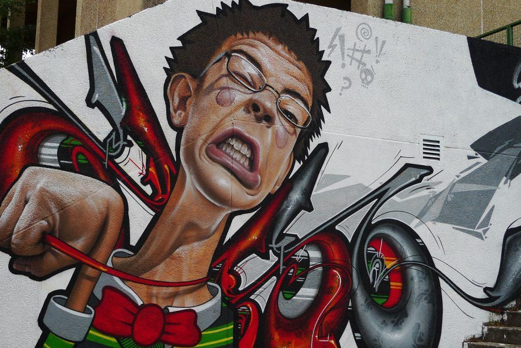 Arte urbano Santiago de Compostela min