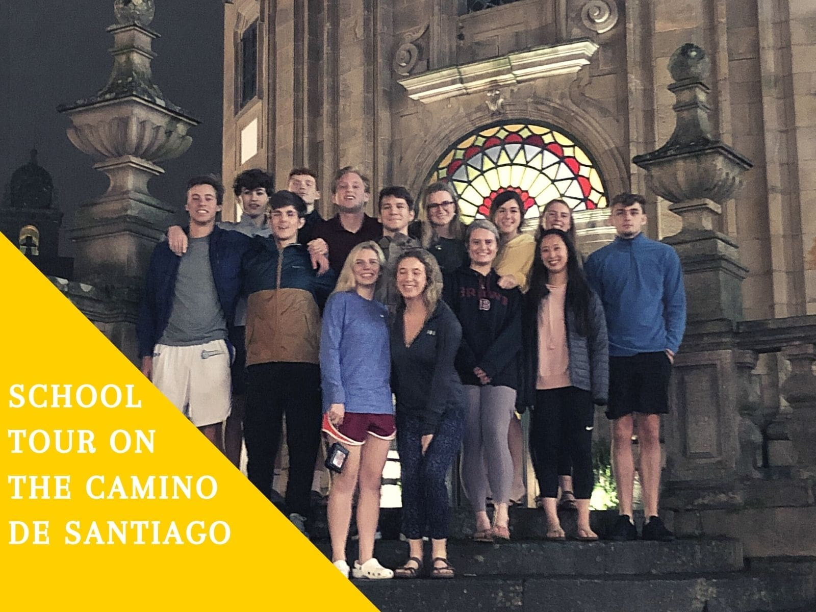 School Tour on the Camino de Santiago