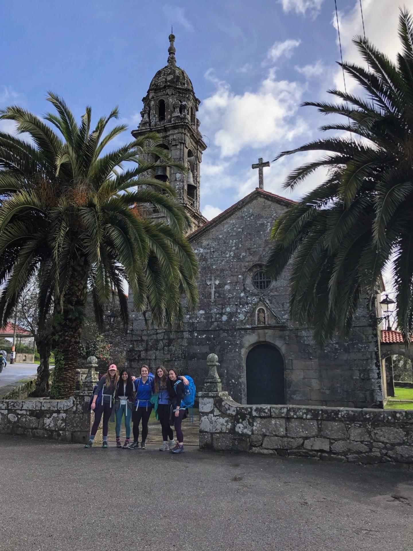 Grupos escolares en el Camino de Santiago