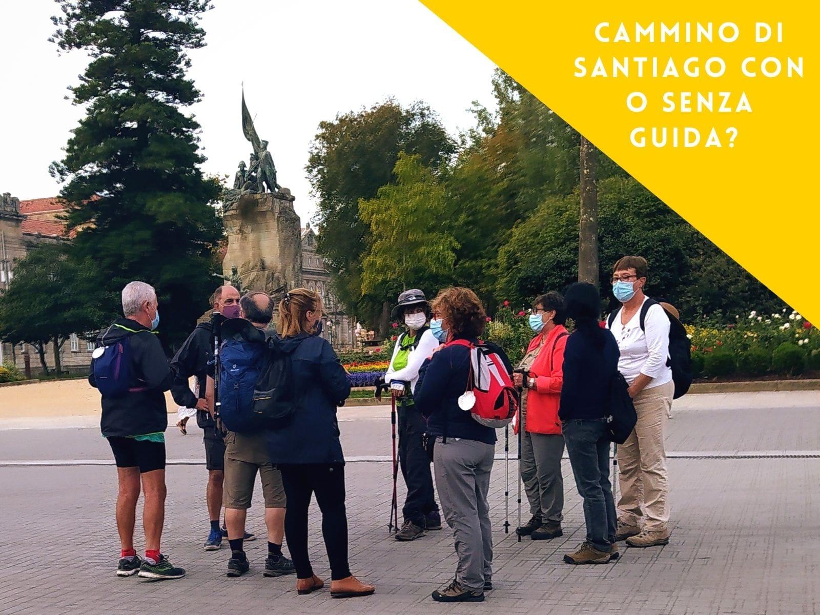 Il Cammino di Santiago con o senza guida?