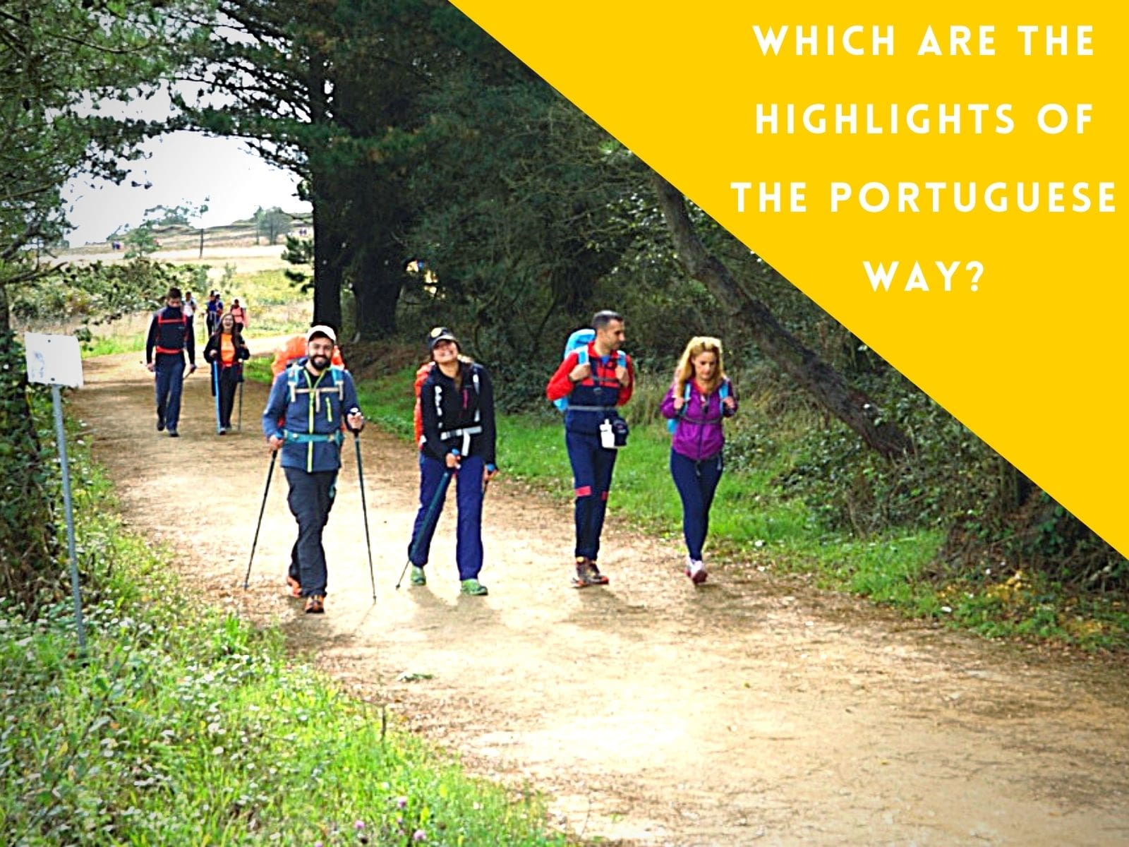 Which are the highlights of the Portuguese Way?