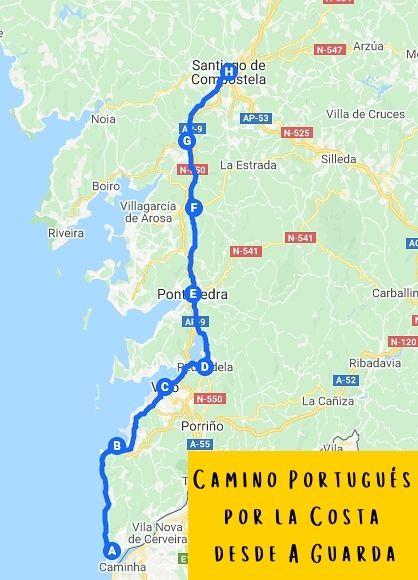 Camino Portugués por la Costa desde A Guarda galiwonders