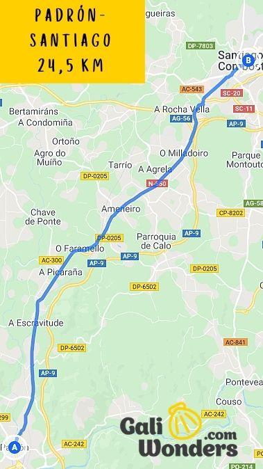 PADRÓN SANTIAGO 245 KM min