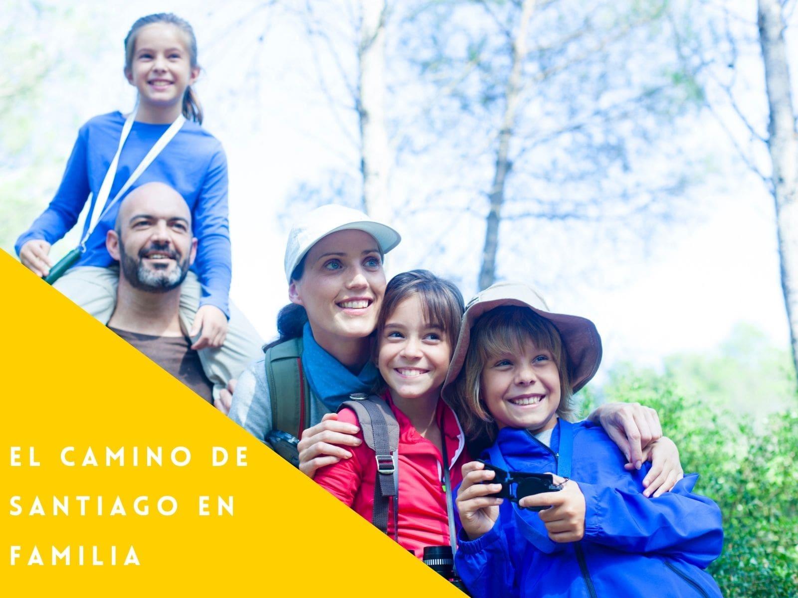 El Camino de Santiago en Familia