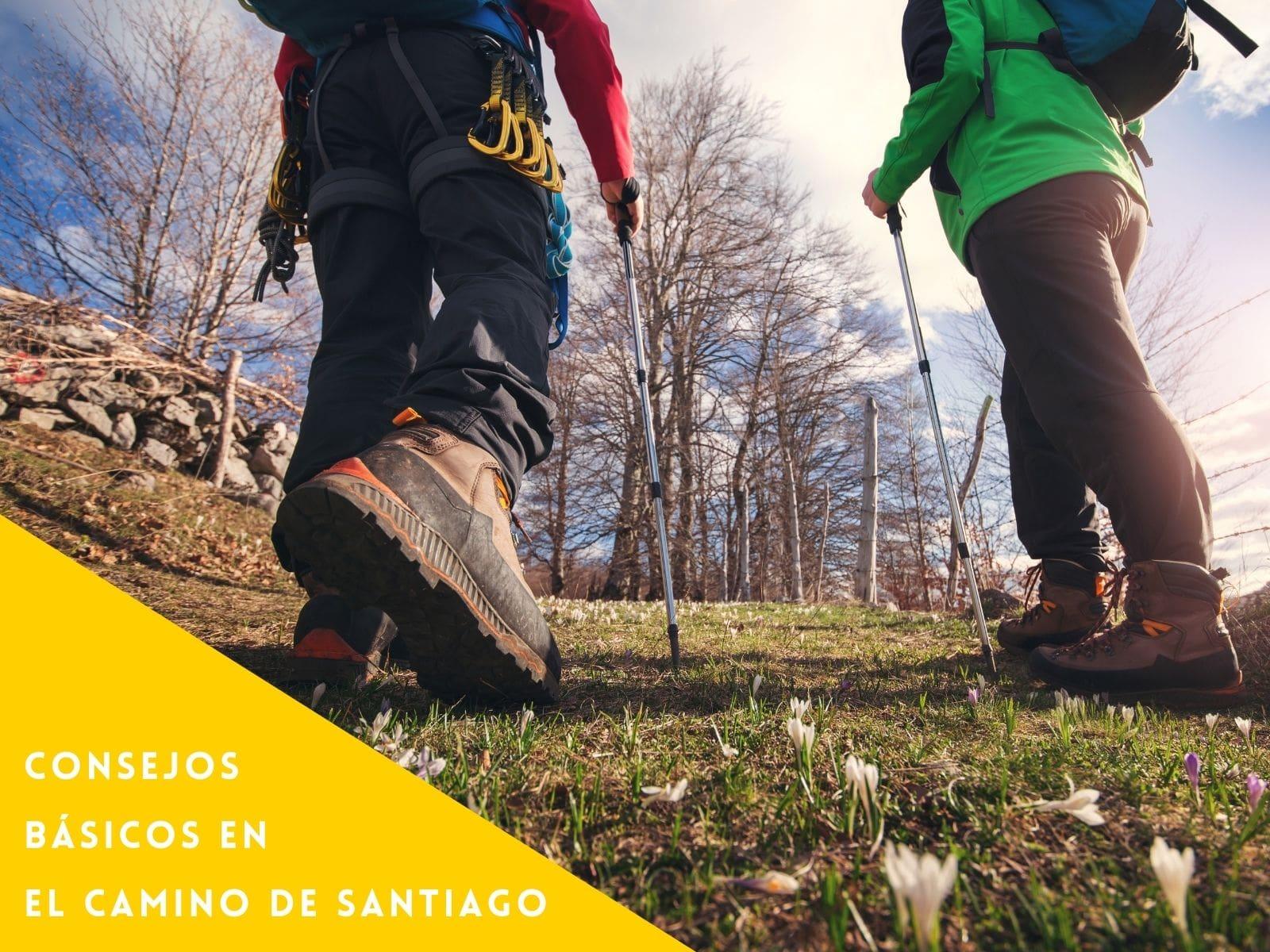 Consejos básicos en el Camino de Santiago