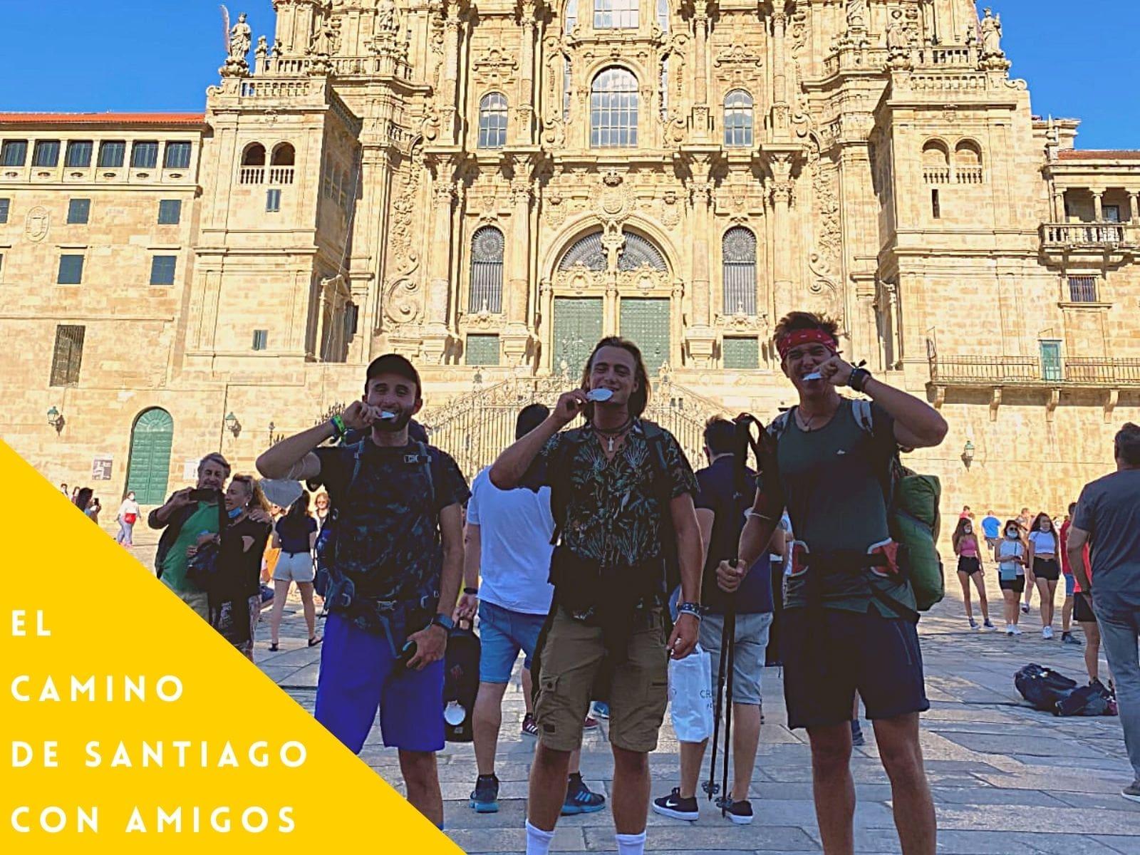 El camino de Santiago con amigos galiwonders